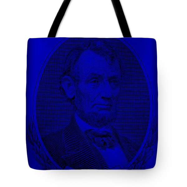 Tote Bag featuring the photograph Abe On The 5 Violet by Rob Hans