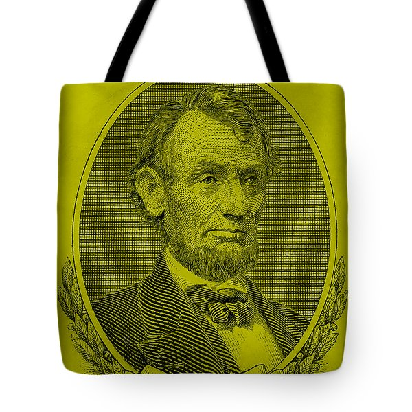 Tote Bag featuring the photograph Abe On The 5 Yellow by Rob Hans