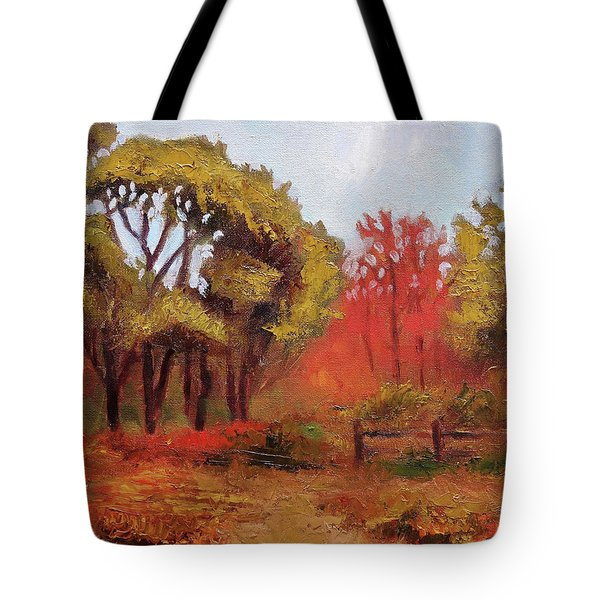 Abeel Fields Tote Bag
