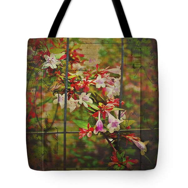 Abelia Coming Through Tote Bag