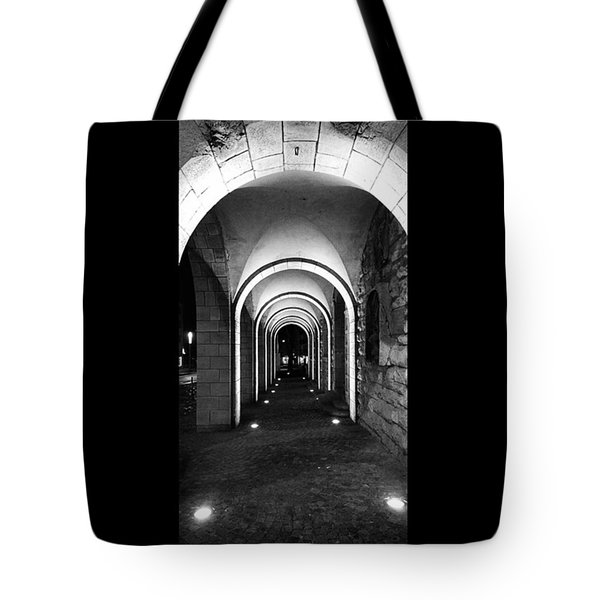 Abend In #nordhausen  #monochrome #bnw Tote Bag