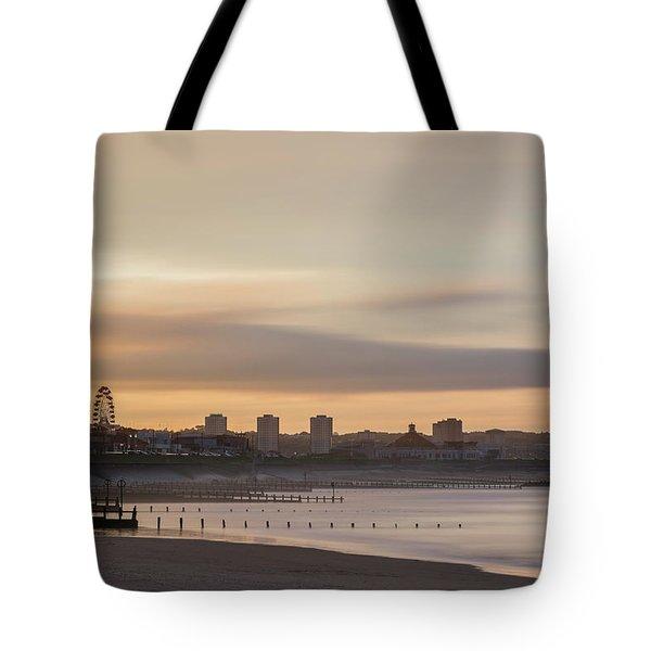 Aberdeen Beach At Sunset Tote Bag