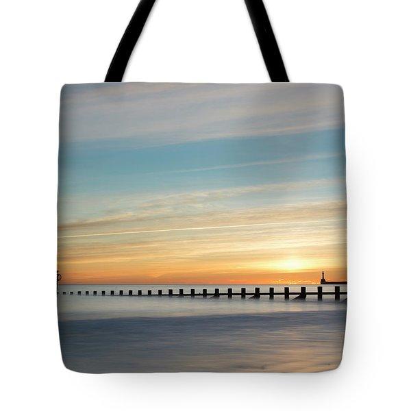Aberdeen Beach Sunrise Tote Bag