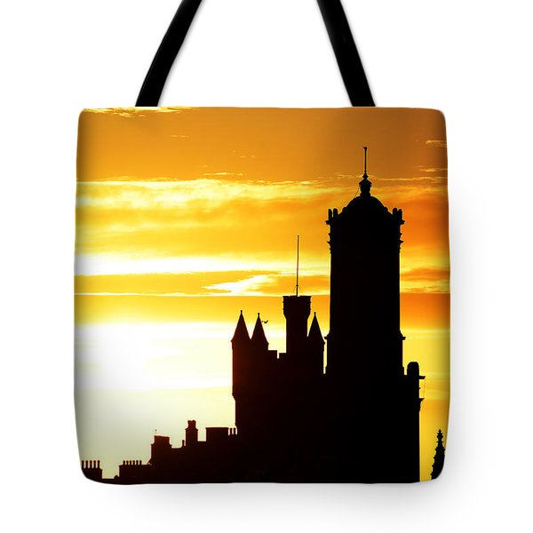 Aberdeen Silhouettes - Landscape Tote Bag