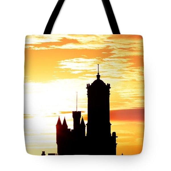 Aberdeen Silhouettes - Portrait Tote Bag
