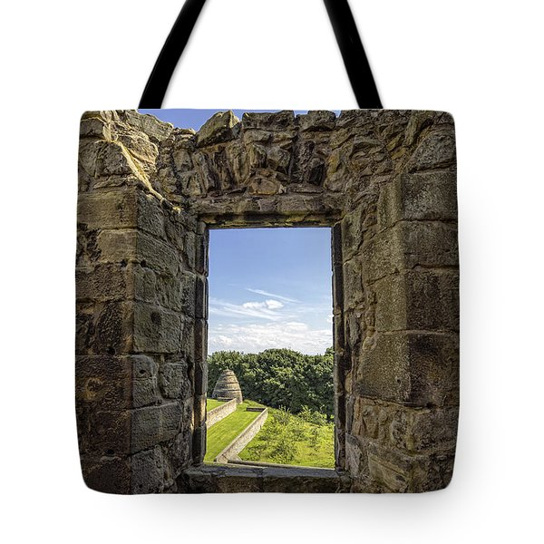 Tote Bag featuring the photograph Aberdour Castle by Jeremy Lavender Photography