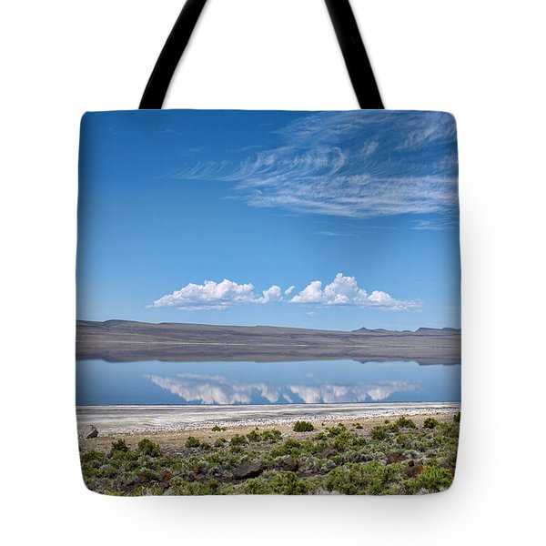 Tote Bag featuring the photograph Abert Lake Oregon by Hugh Smith