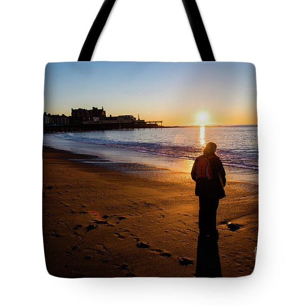Aberystwyth Sunset Tote Bag