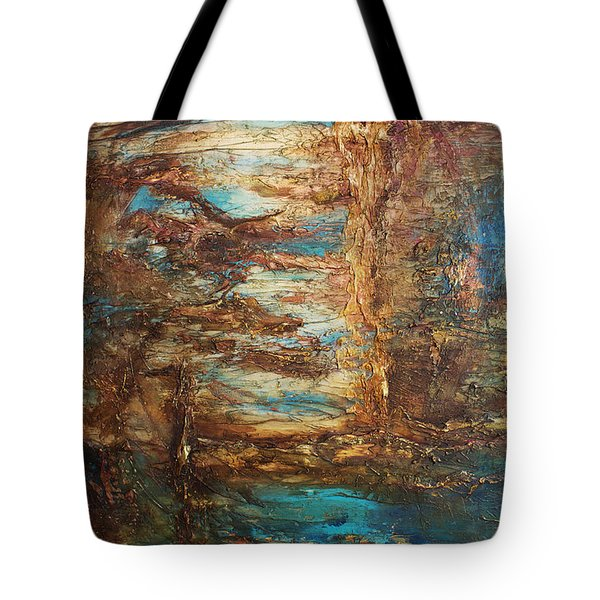 Lagoon Tote Bag by Patricia Lintner