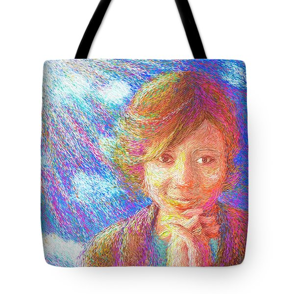 Abiding In Faith Tote Bag