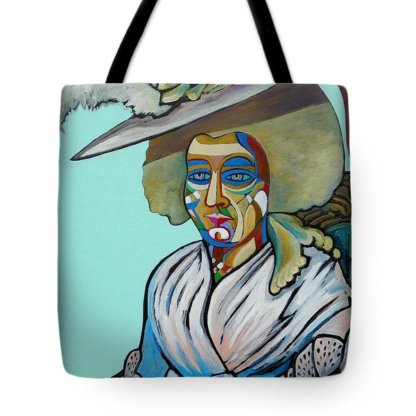 Abigail Adams Tote Bag by Gray