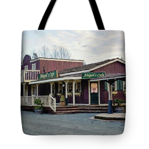 Abigail's Cafe - Hope Valley Art Tote Bag
