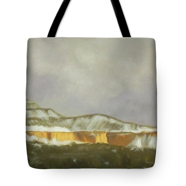 Abiquiu Band Of Gold Tote Bag