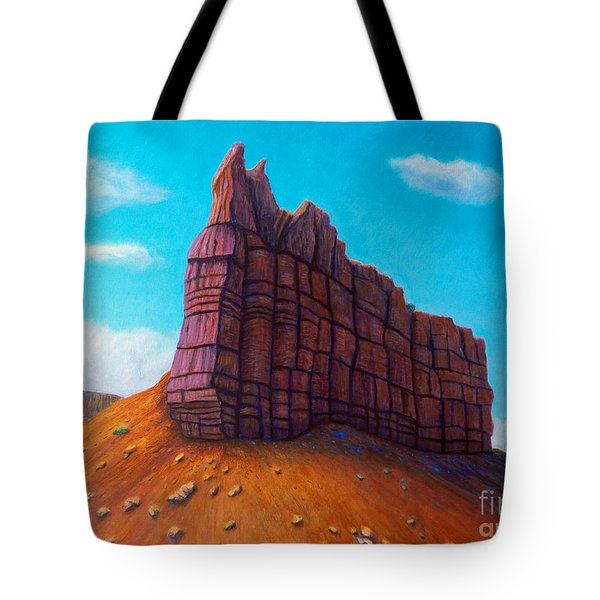 Abiquiu Tote Bag by Brian  Commerford