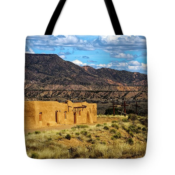 Abiquiu Church Tote Bag