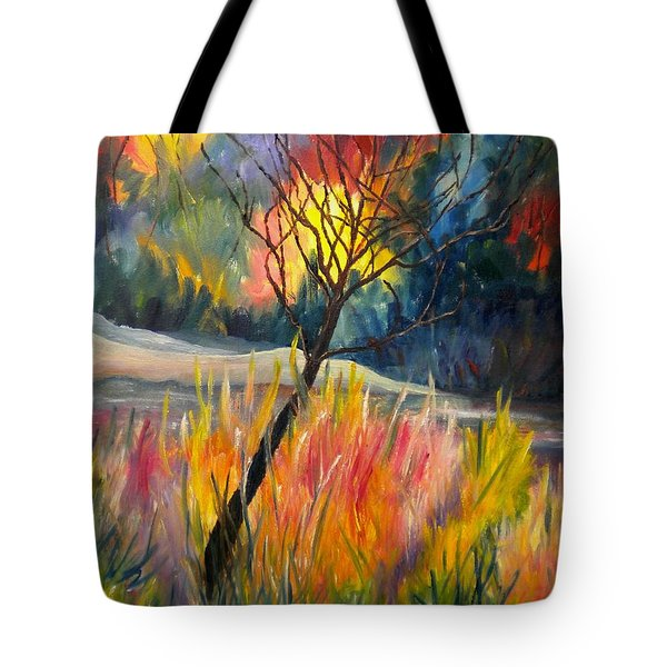 Ablaze Tote Bag by Renate Nadi Wesley