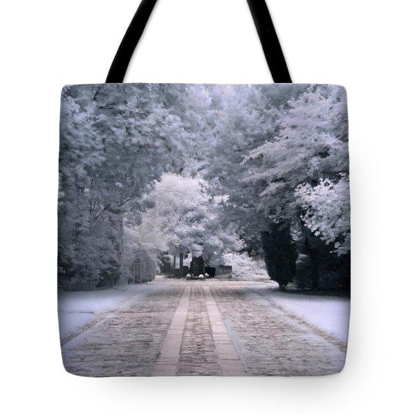 Abney Park Entrance Tote Bag by Helga Novelli