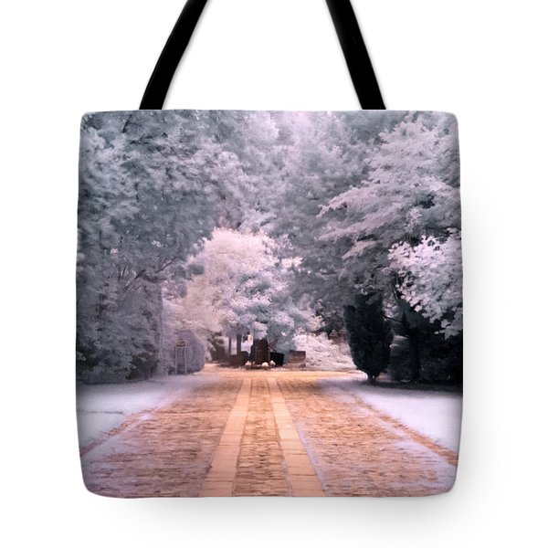 Tote Bag featuring the photograph Abney Park, London by Helga Novelli