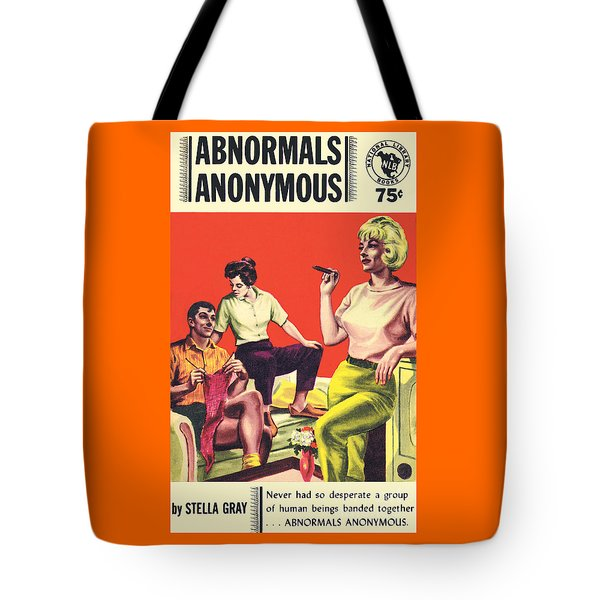 Abnormals Anonymous Tote Bag