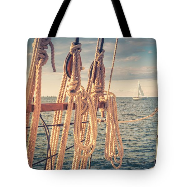 Aboard The Edith M Becker Tote Bag