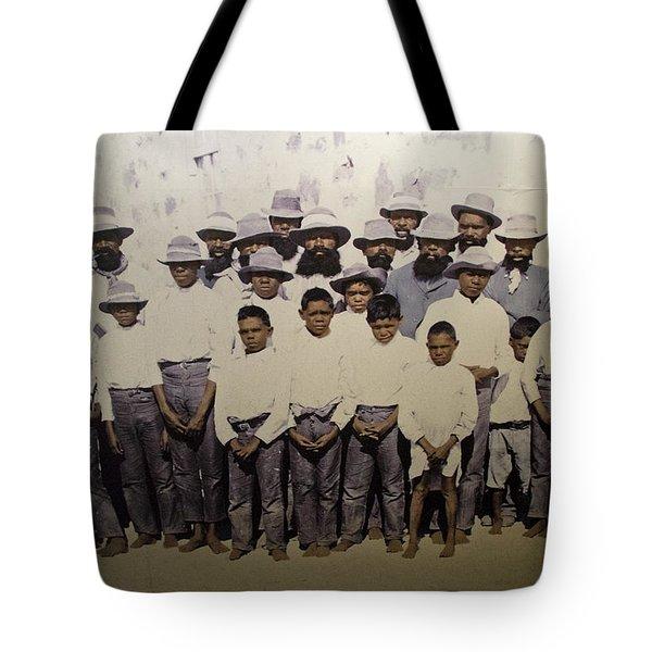 Tote Bag featuring the photograph Aboriginal Life 1901 To 1914 by Miroslava Jurcik