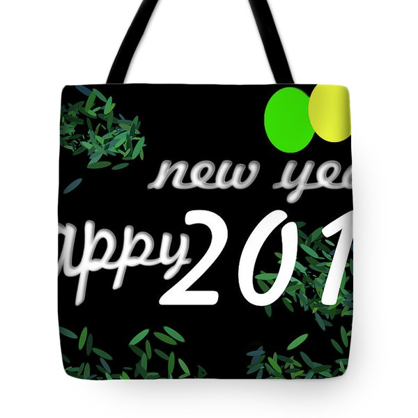 About New Year Tote Bag