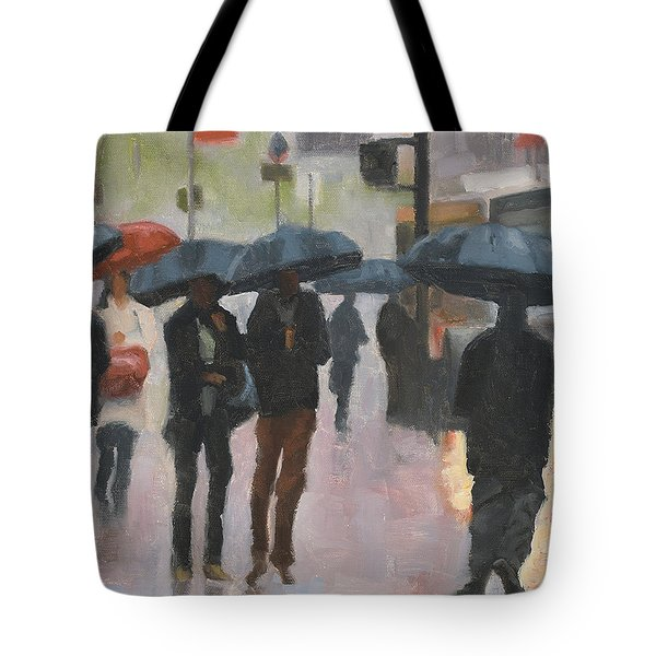 About Town Tote Bag