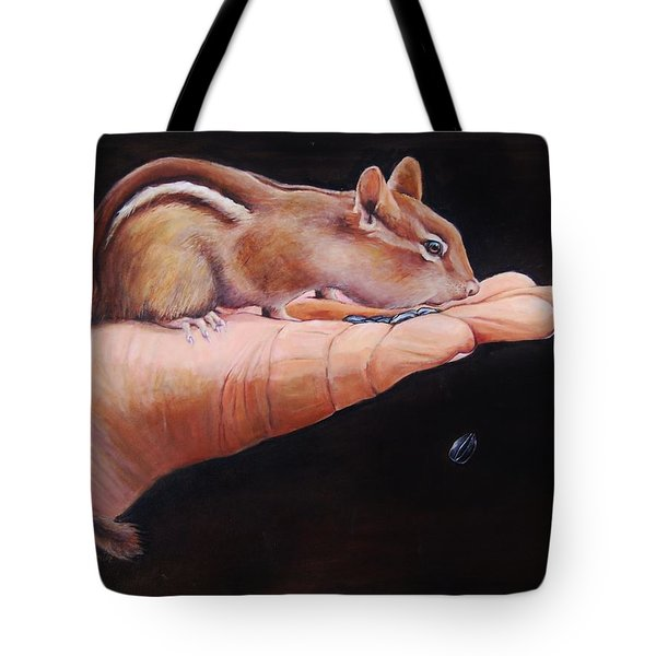 About Trust Tote Bag by Jean Cormier