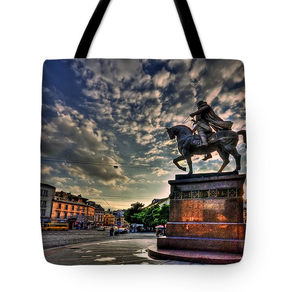Above All Tote Bag by Evelina Kremsdorf