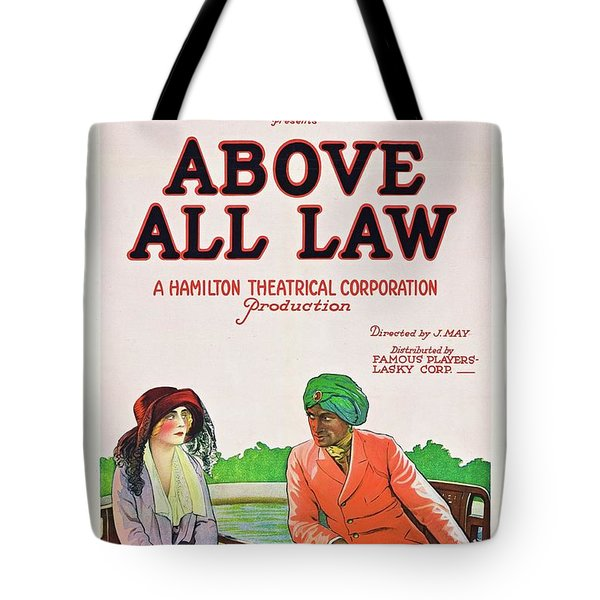 Above All Law Tote Bag by Paramount