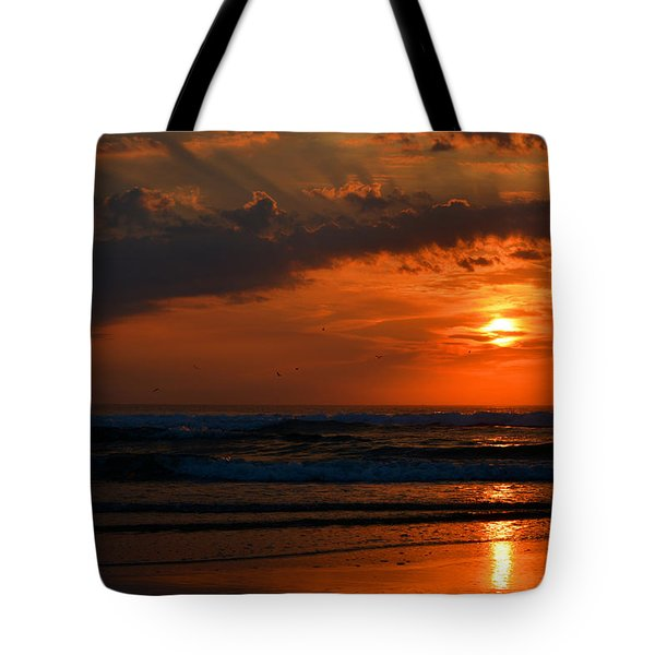 Above And Below Tote Bag by Dianne Cowen
