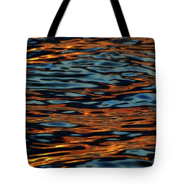 Above And Below The Waves  Tote Bag by Lyle Crump