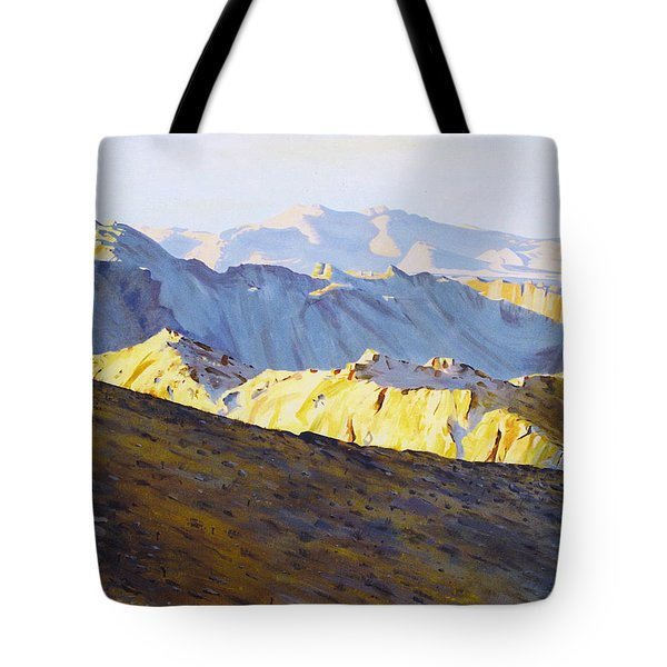 Above Bighorn Tote Bag