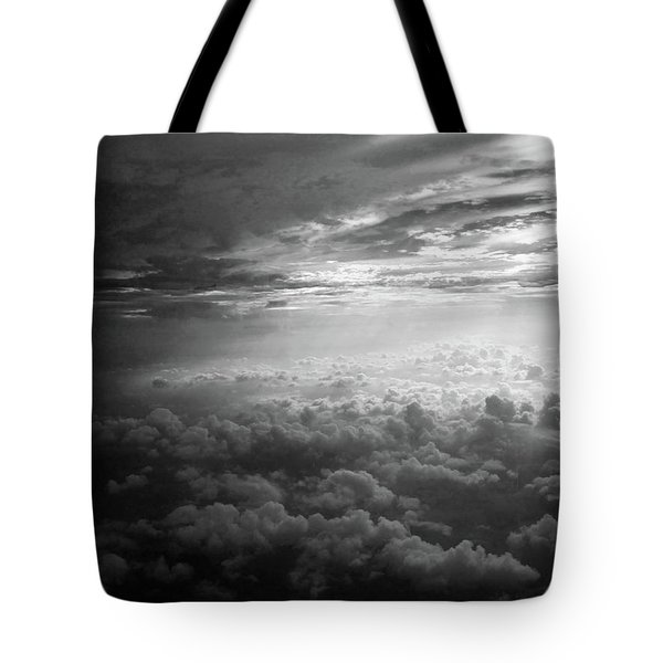 Above Earth 3 Tote Bag