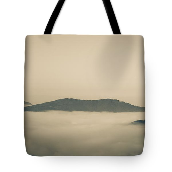 Above Everything Tote Bag by Gabriela Insuratelu