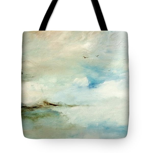 Tote Bag featuring the painting Above It All by Dina Dargo