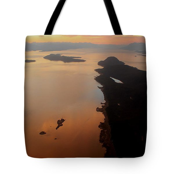 above Juneau Tote Bag