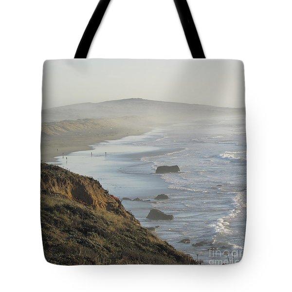 Looking Toward San Francisco Tote Bag