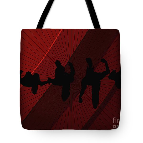 Above Perspective Tote Bag
