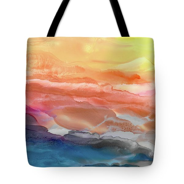 Above The Abyss Tote Bag