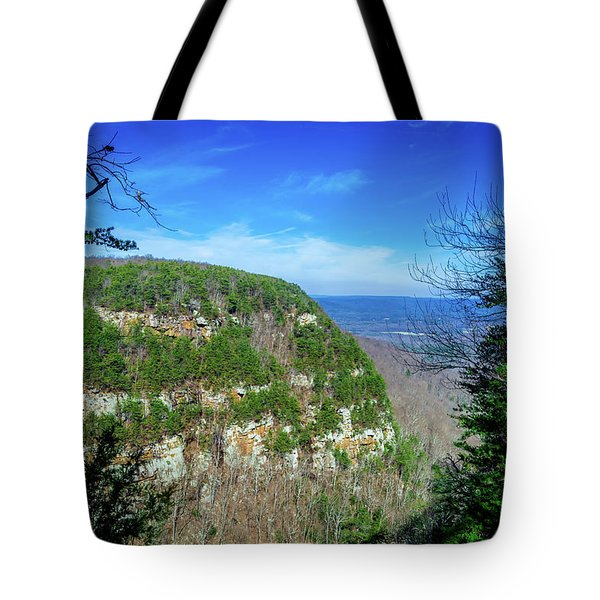 Above The Canyon Tote Bag