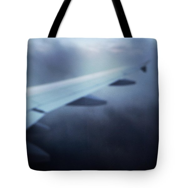 Above The Clouds 04 - Dreaming Tote Bag by Matthias Hauser