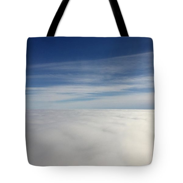 Above The Clouds I Tote Bag