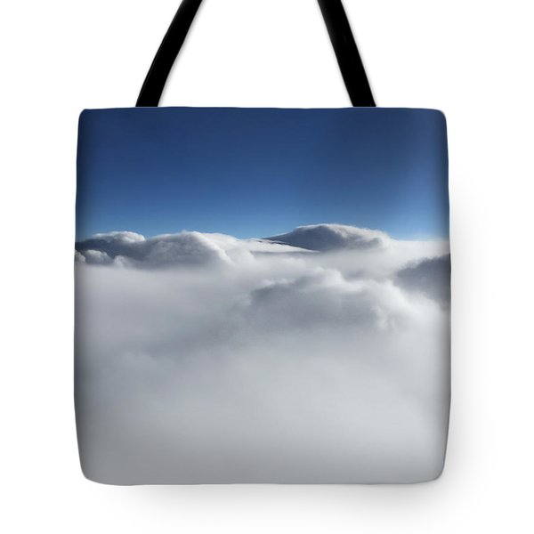 Above The Clouds II Tote Bag