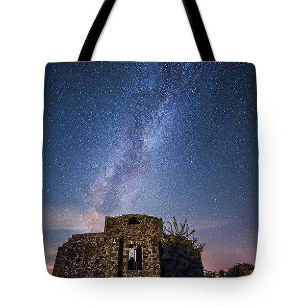 Above The Cuba Tote Bag
