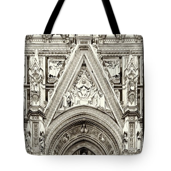 Above The Door Tote Bag
