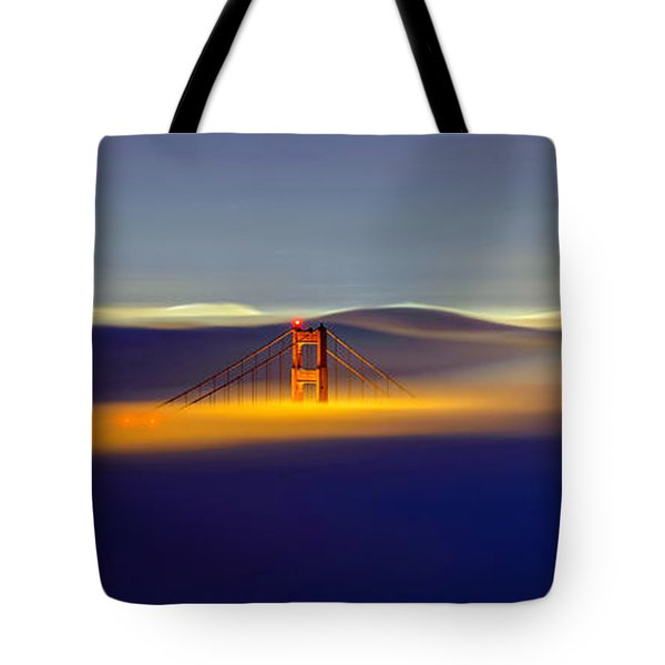 Above The Fog II Tote Bag