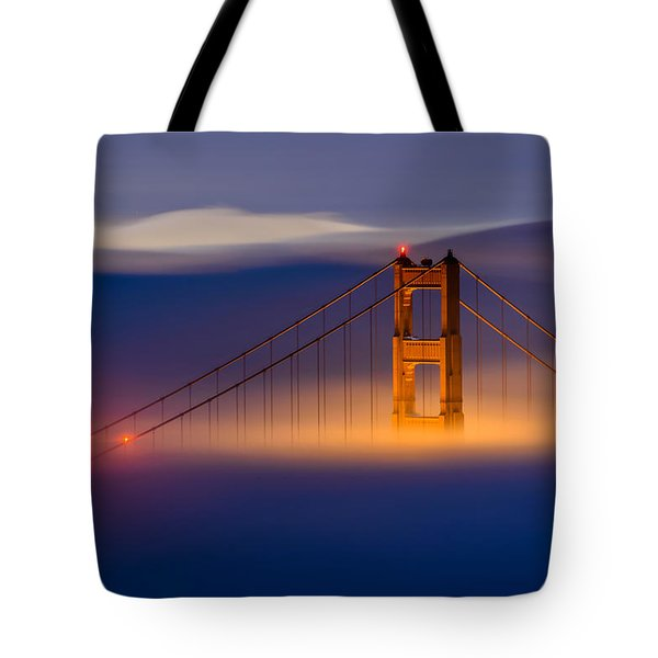 Above The Fog Tote Bag