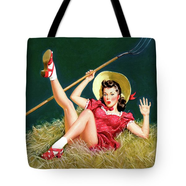 Above The Hay Tote Bag