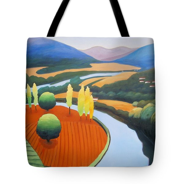 Above The Lot Square Tote Bag